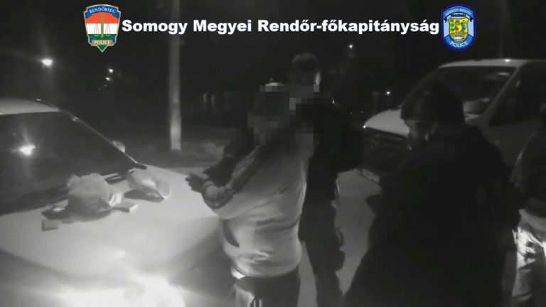 Rendőrkutya segített elfogni a rablót Kaposváron + VIDEÓ