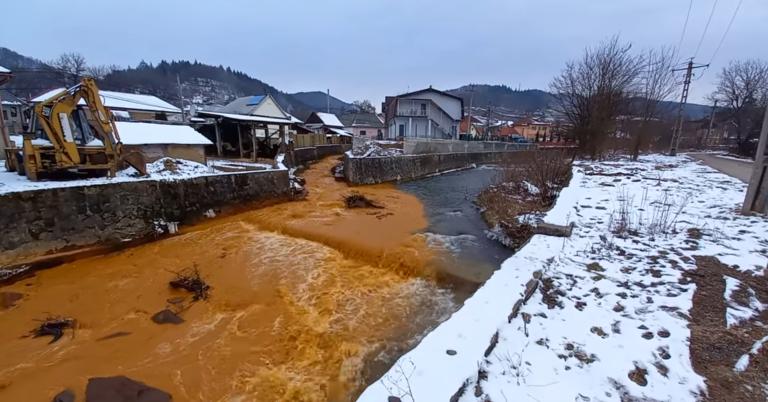 Nehézfémszennyezés érkezett a Szamoson Romániából