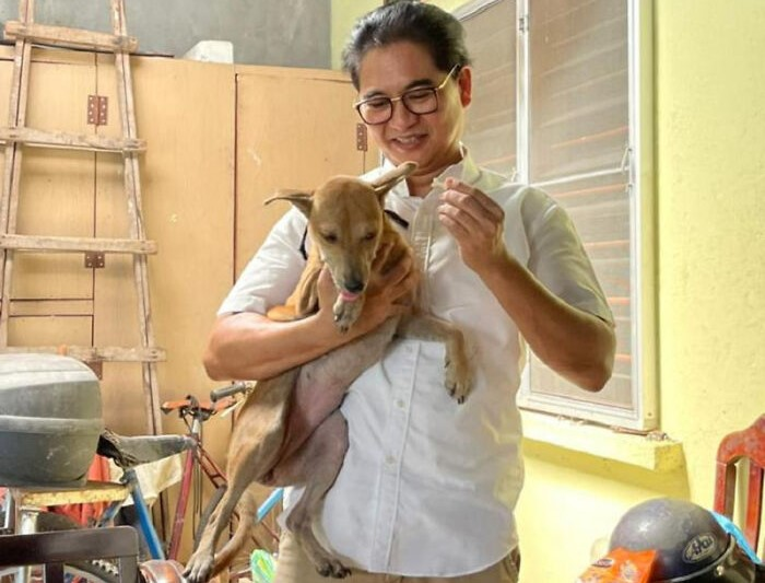 Megmentette családja életét a kutya, amikor kigyulladt a ház